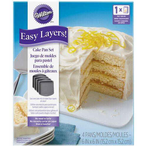 Wilton Cake Pan Easy Layers Vierkant 15 cm