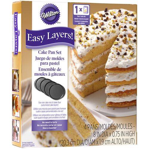 Wilton Cake Pan Easy Layers Rond 20 cm