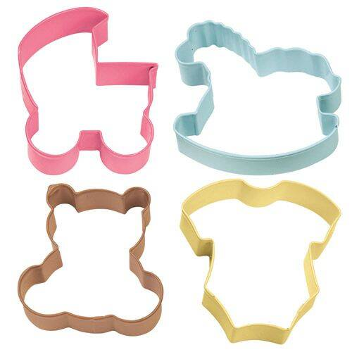 Wilton Cookie Cutter Baby Theme Set