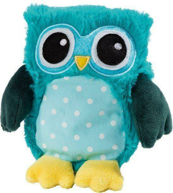 Magnetronknuffel Warmies®  POP! Uil Turquoise