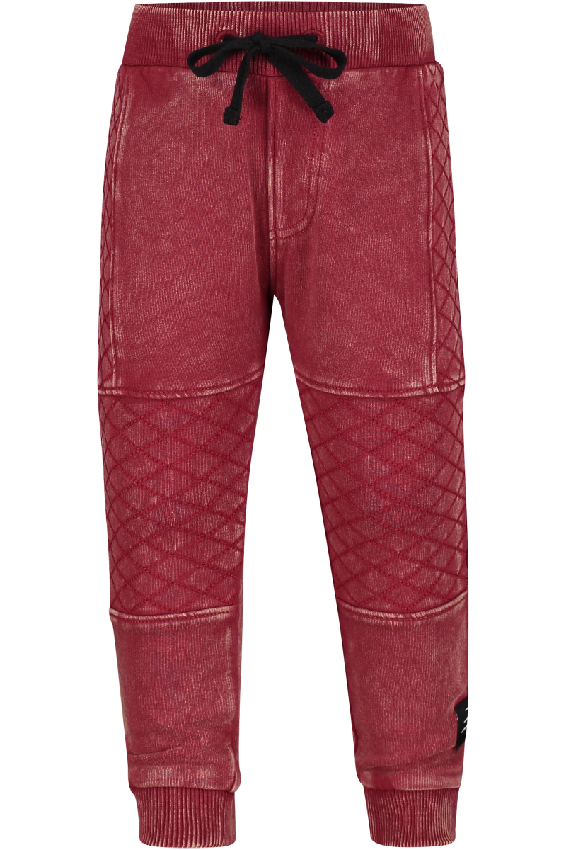 4PRESIDENT Broek Colin Washed Red