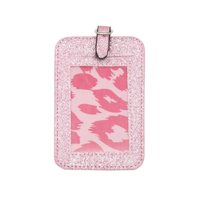 Travel tag - roze