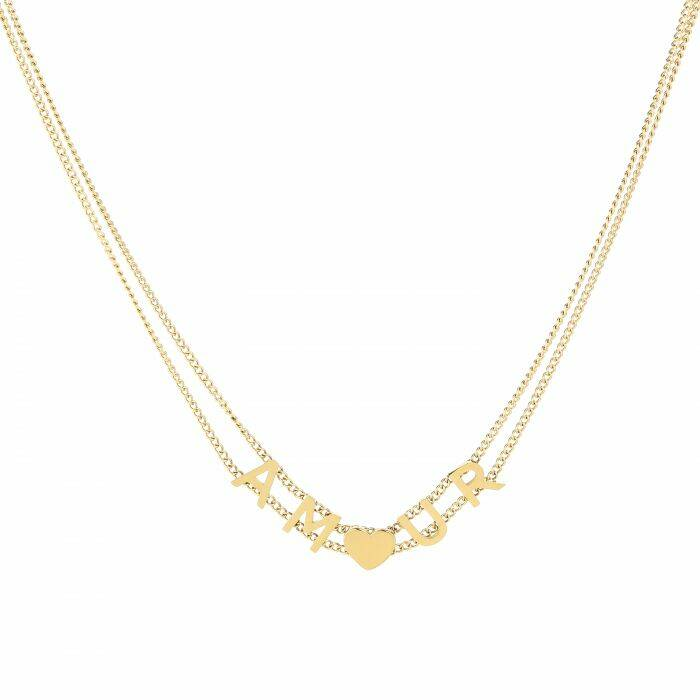 Amour ketting - goud