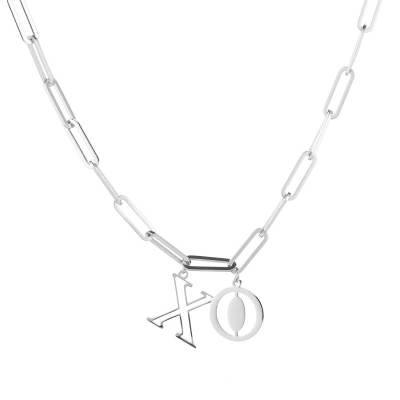 XO necklace - zilver