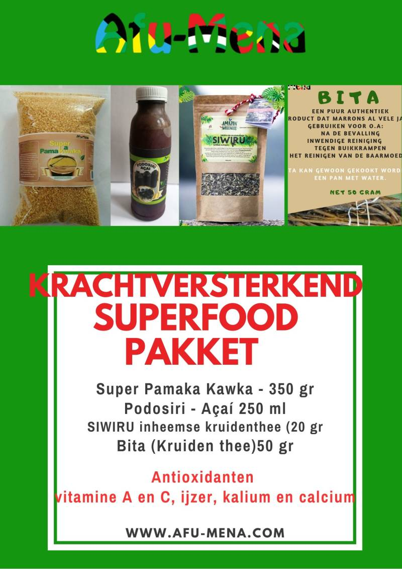 Krachtversterkend Superfood pakket