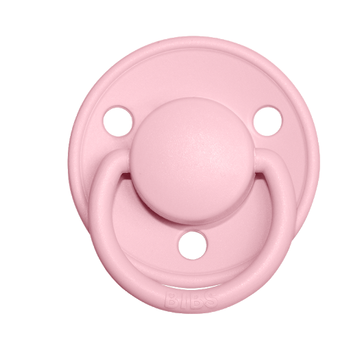 BIBS DELUXE SILICONE - BABY PINK
