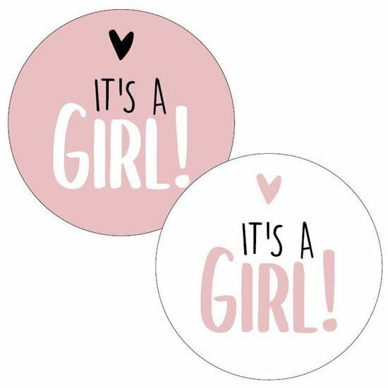It's a Girl - Stickers