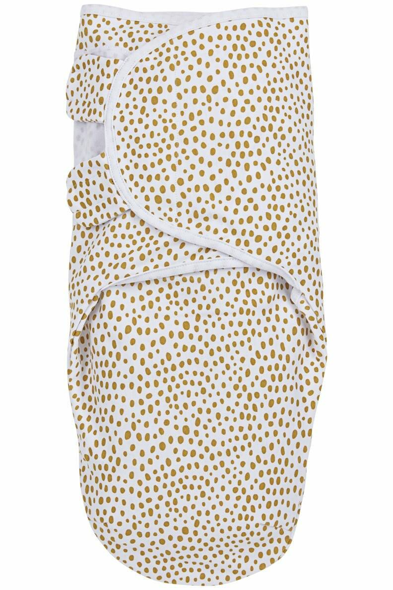 SwaddleMeyco inbakerdoek-Cheetah honey gold-0-3 maanden