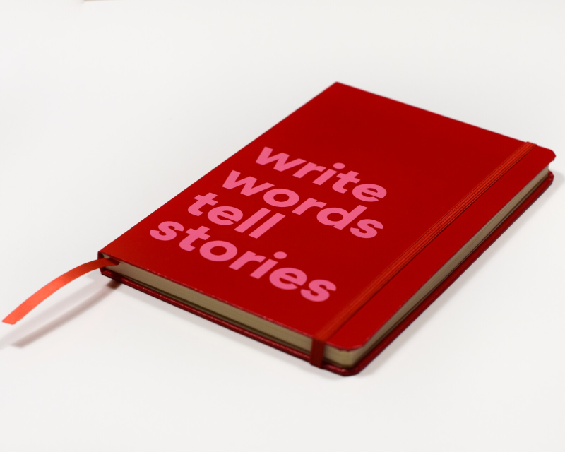 Notebook Write Words Tell Stories