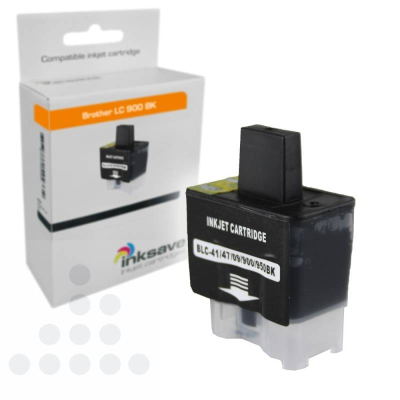 Inksave Brother LC 900 BK