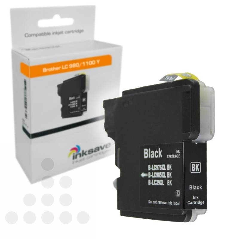 Inksave Brother LC 985 BK