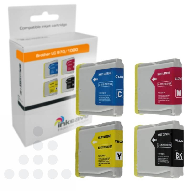 Inksave Brother LC 970/1000 Multipack