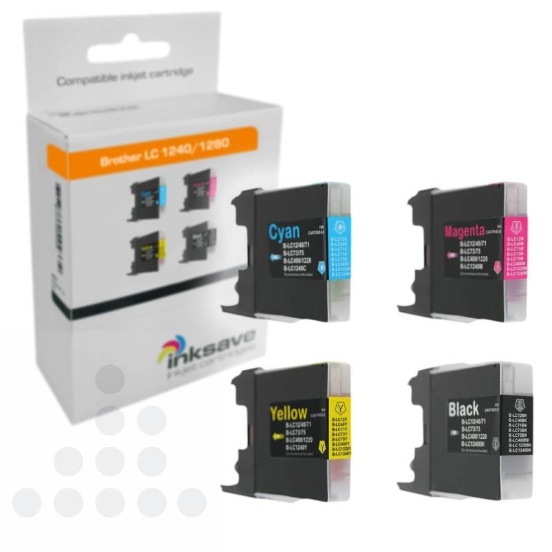 Inksave Brother LC 1240/1280 Multipack
