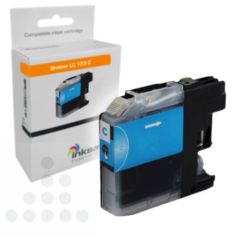 Inksave Brother LC 123 C