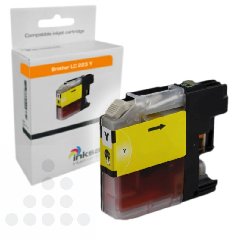 Inksave Brother LC 223 Y