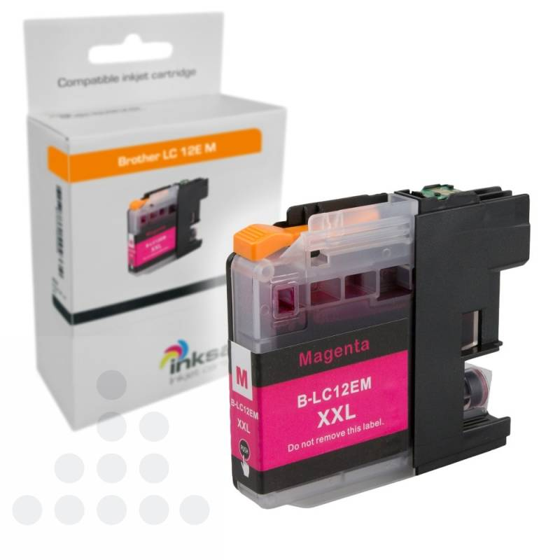 Inksave Brother LC 12E M XXL
