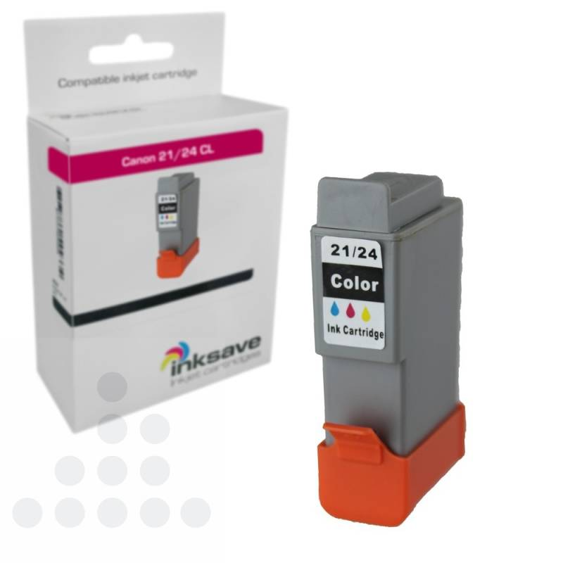 Inksave Canon BCI 21/24 CL