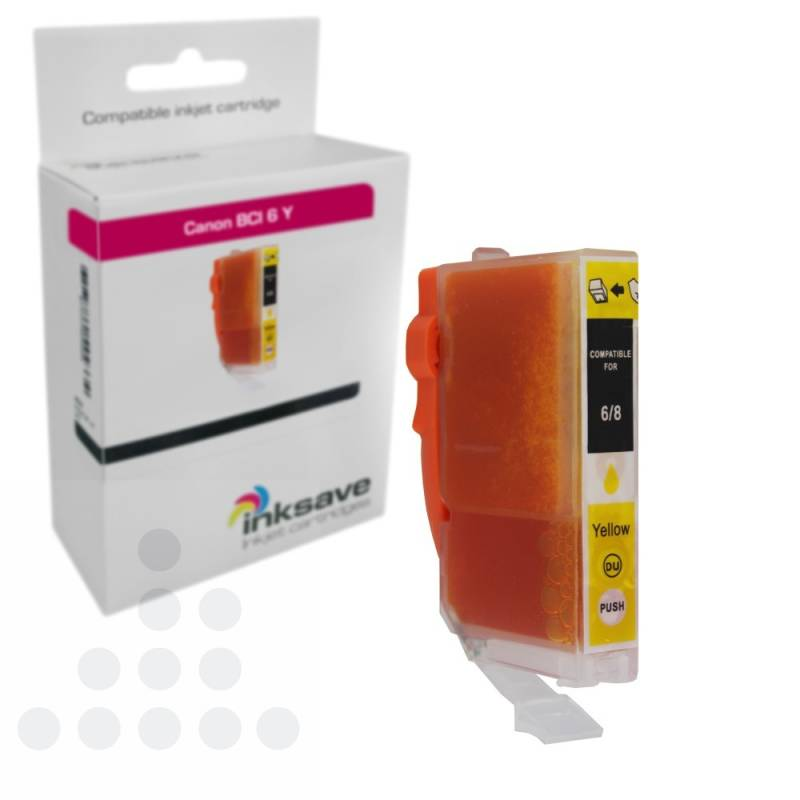 Inksave Canon BCI 6 Y