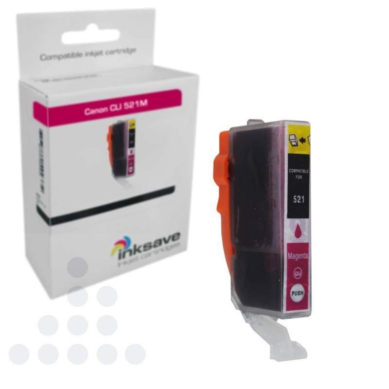 Inksave Canon CLI 521 M