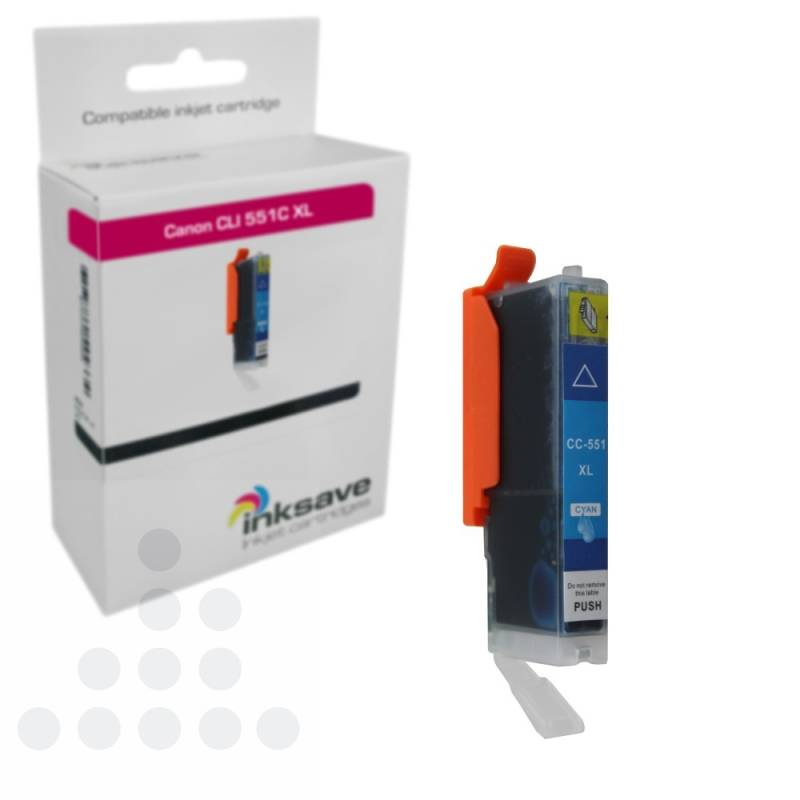 Inksave Canon CLI 551 C XL
