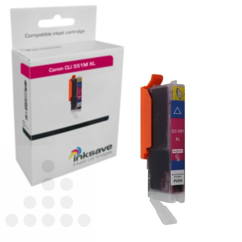 Inksave Canon CLI 551 M XL