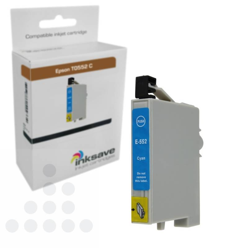 Inksave Epson T0552 C