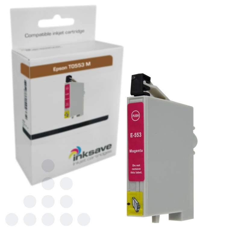 Inksave Epson T0553 M