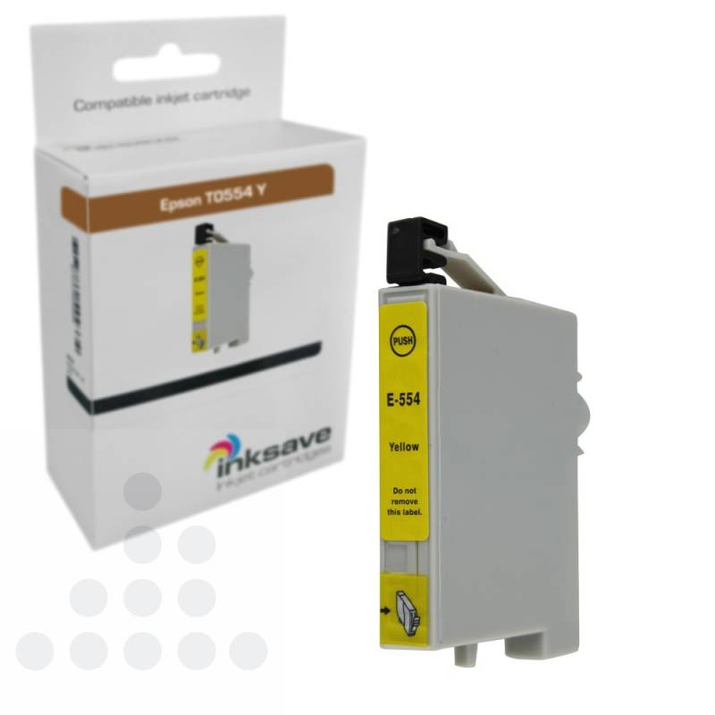 Inksave Epson T0554 Y