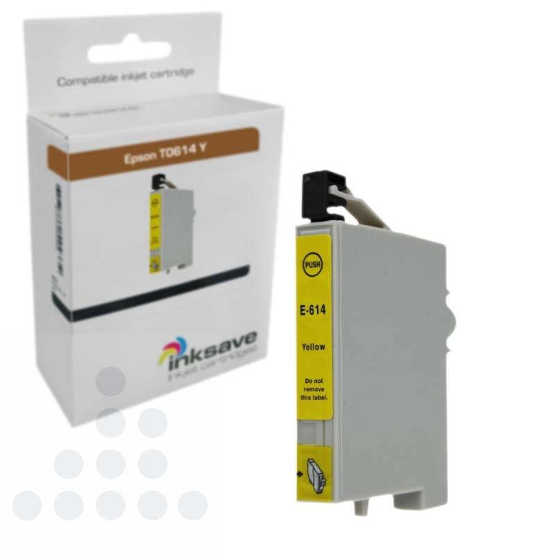Inksave Epson T0614 Y