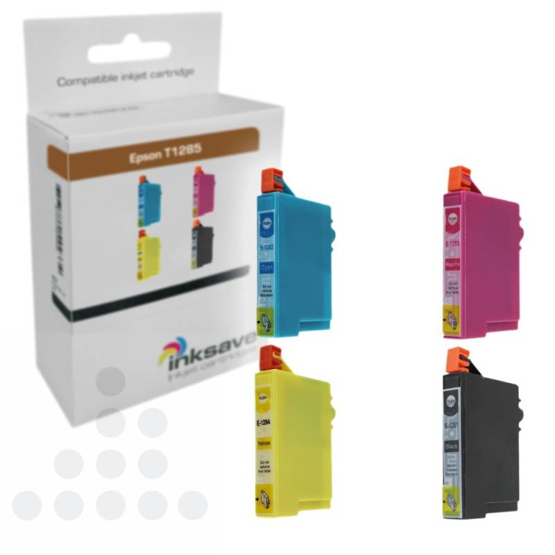 Inksave Epson T1285 Multipack