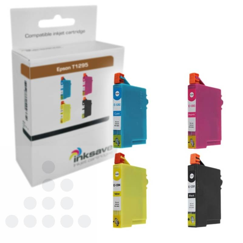 Inksave Epson T1295 Multipack