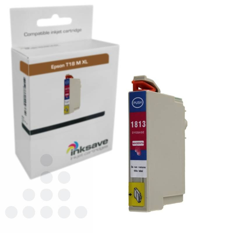 Inksave Epson T18 M XL