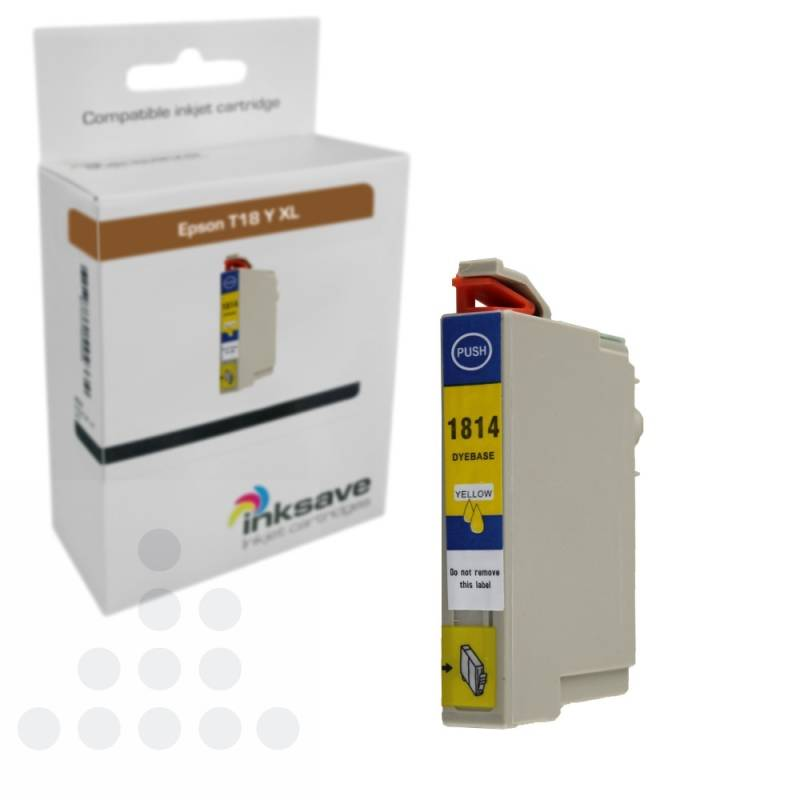 Inksave Epson T18 Y XL