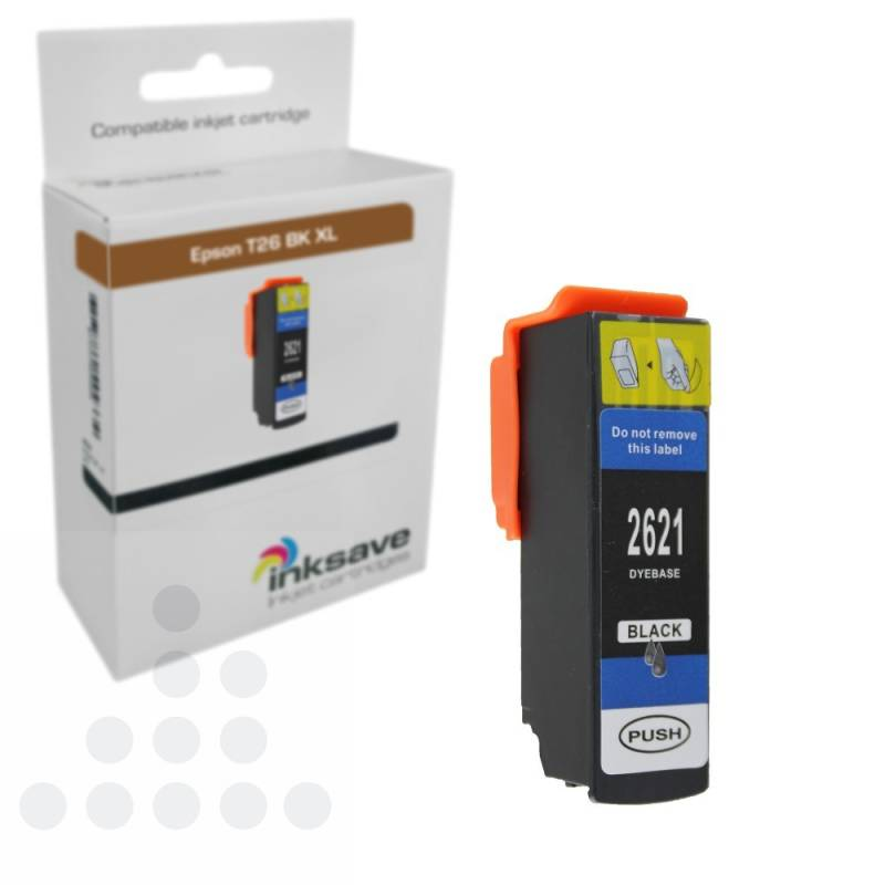 Inksave Epson T26 BK XL