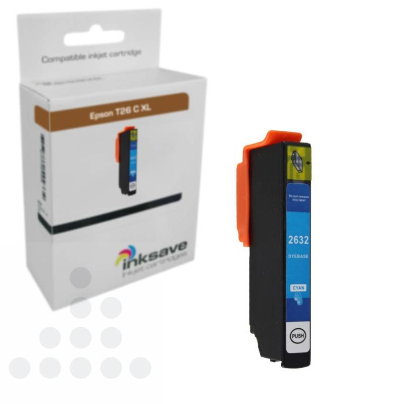 Inksave Epson T26 C XL