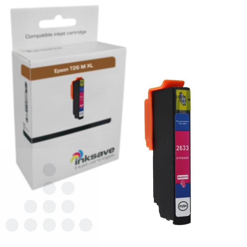 Inksave Epson T26 M XL