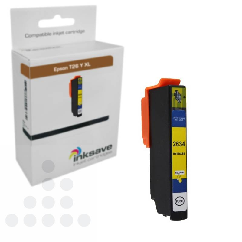 Inksave Epson T26 Y XL