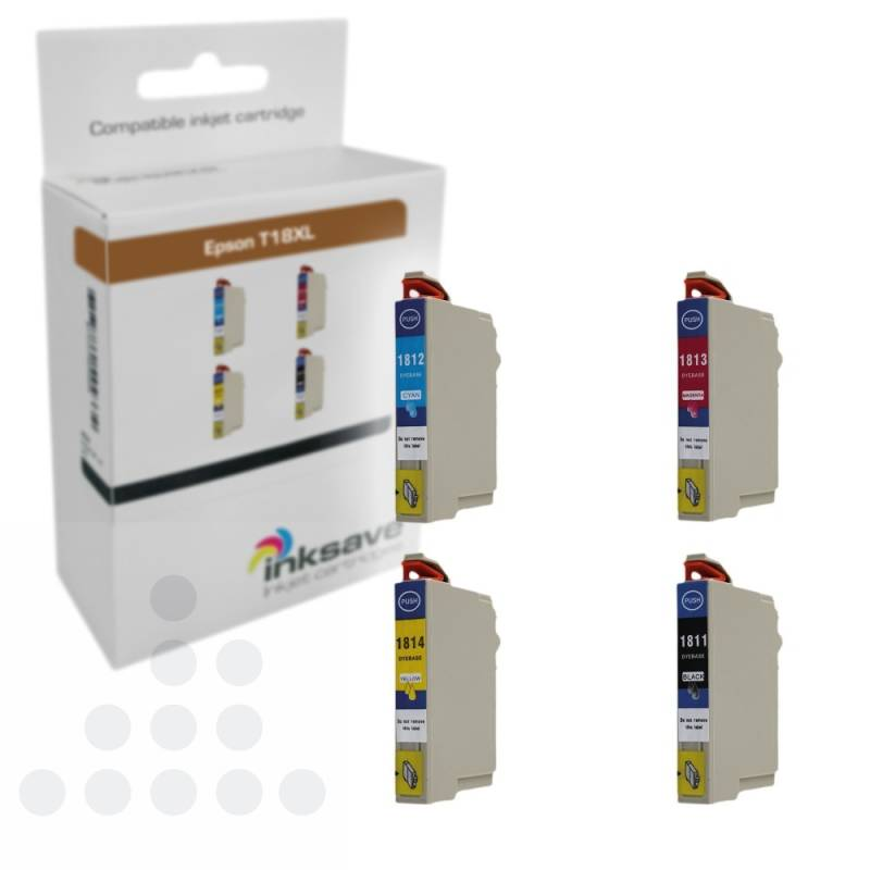 Inksave Epson T18 XL Multipack