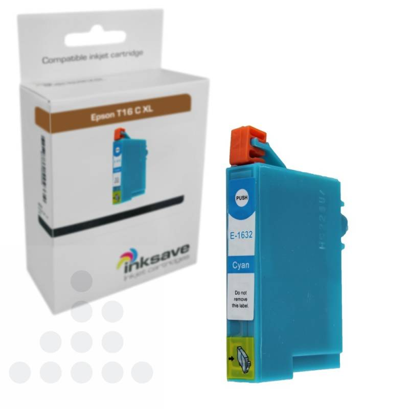 Inksave Epson T16 C XL