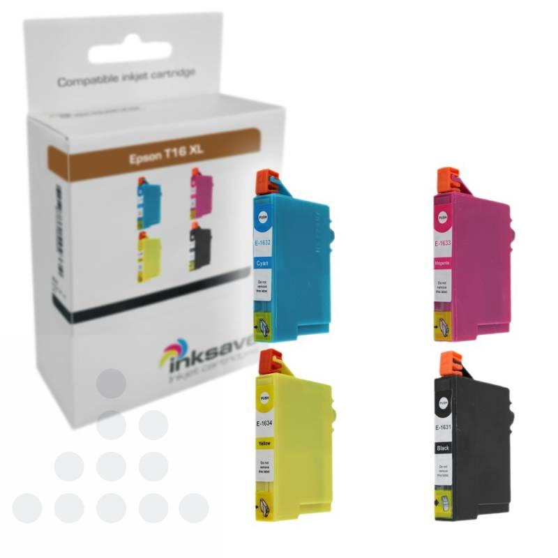 Inksave Epson T16 XL Multipack