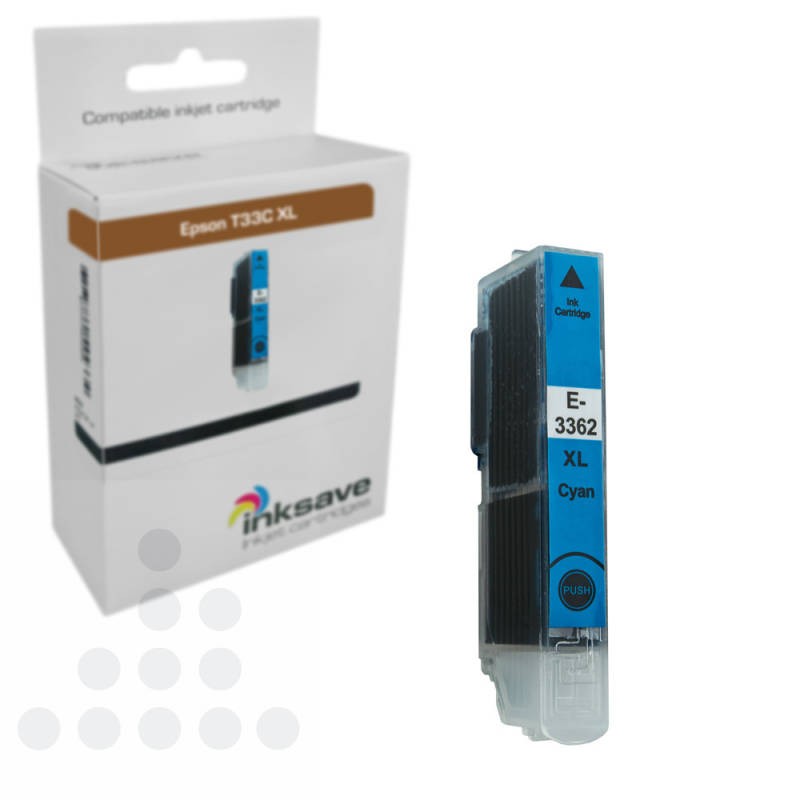 Inksave Epson T33 C XL