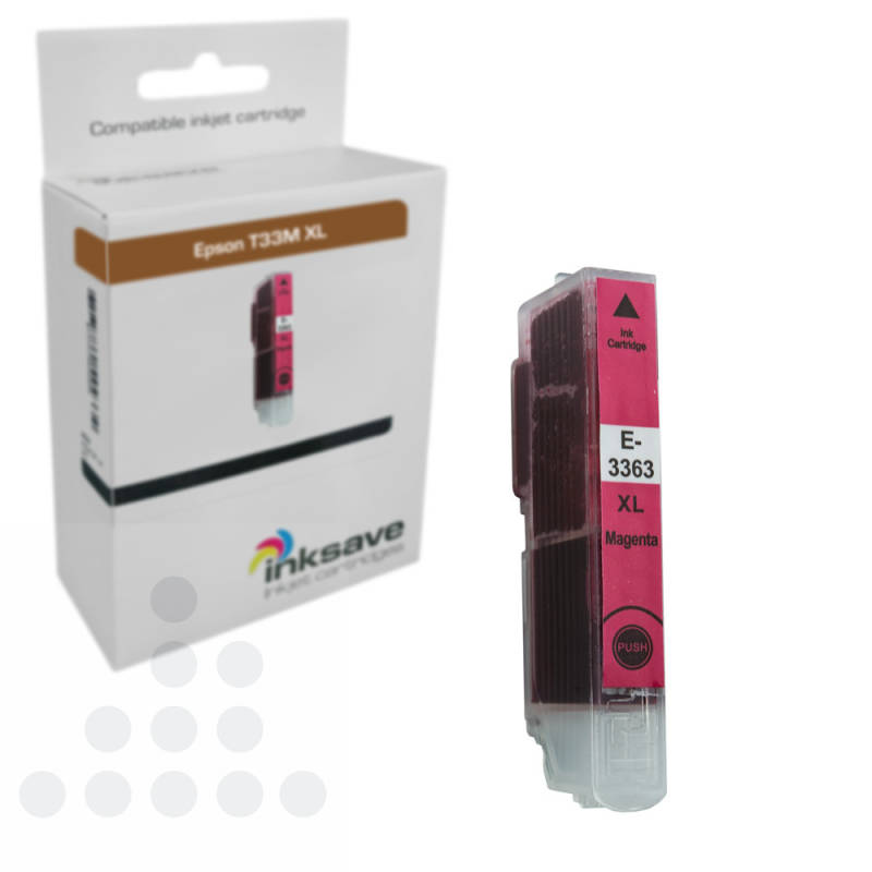Inksave Epson T33 M XL
