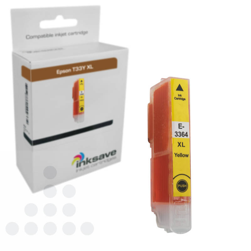 Inksave Epson T33 Y XL