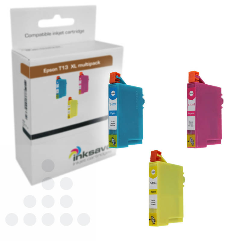 Inksave Epson T1306 XL multipack (3)