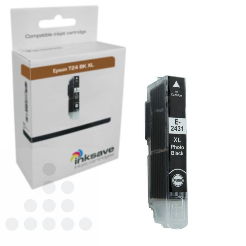 Inksave Epson T24BK XL
