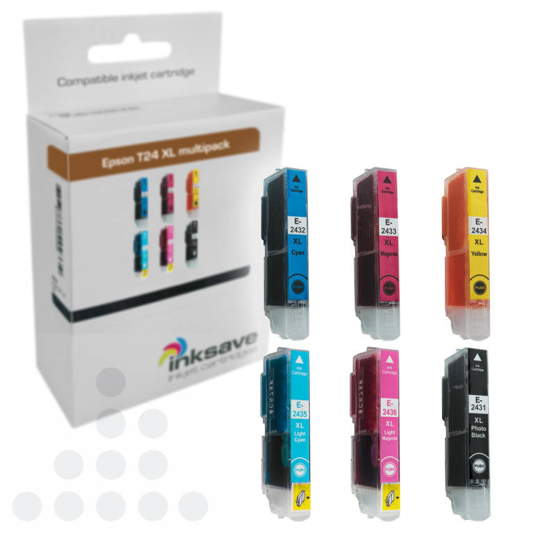 Inksave T24XL Epson multipack (6)