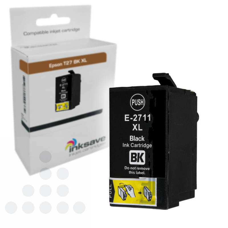 Inksave Epson T27BK XL
