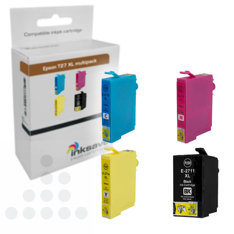 Inksave Epson T27XL multipack (4)