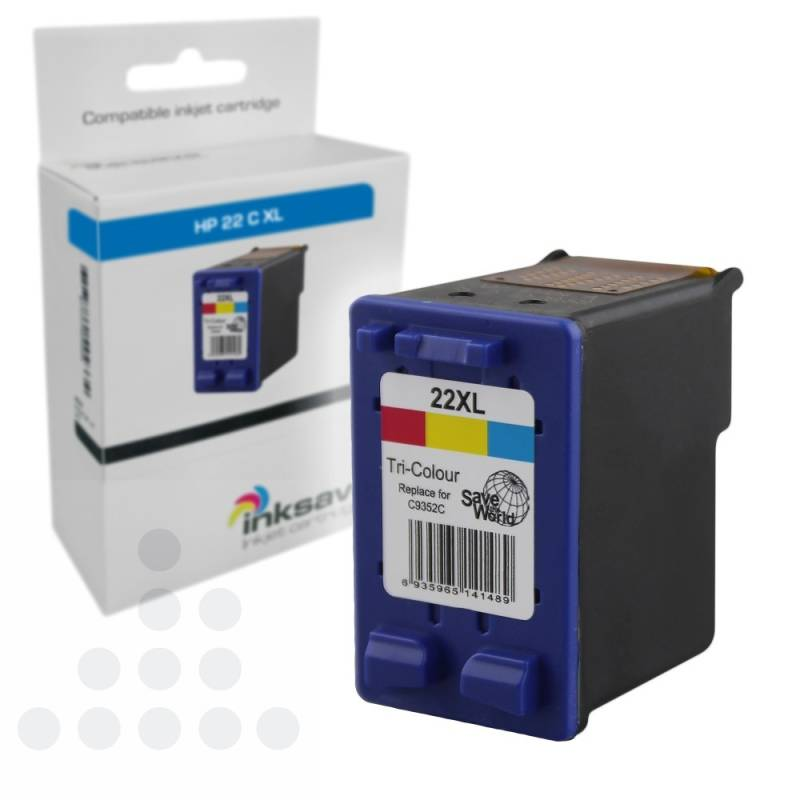 Inksave HP 22 C XL
