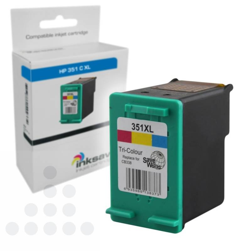 Inksave HP 351 C XL